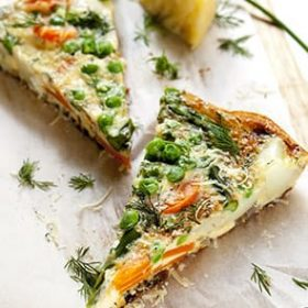 Lokmalık Sebzeli Omletler