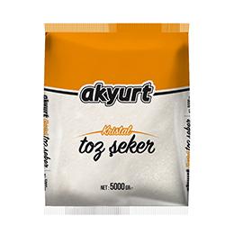 AKYURT TOZ ŞEKER 5 KG